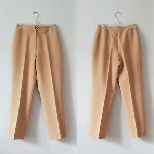 Vintage Pants - Vintage Mister Leonard Camel High Waisted Pants